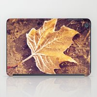fitzgerald iPad Cases featuring Autumn Frost by Elke Meister