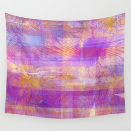 Marbled Patchwork Wall Tapestry