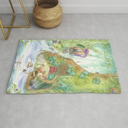 The Wind in the Willows Rug