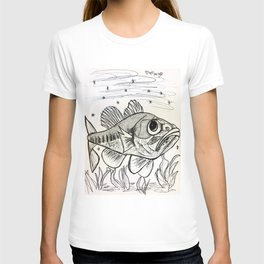 Largemouth Bass Swimming T-shirt