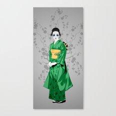 Geisha G Canvas Print