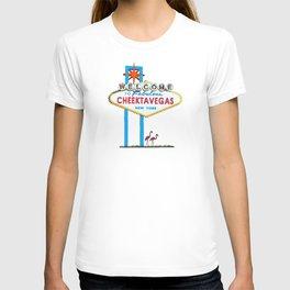 Welcome to Cheektavegas T-shirt