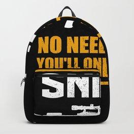 Sniper No Need To Run | Gun Lover Backpack