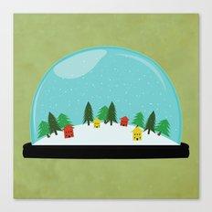 Snow Globe Canvas Print