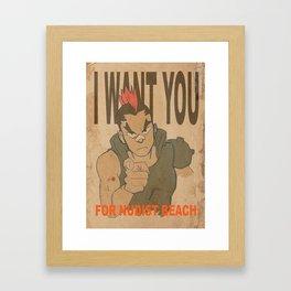I Want You... Framed Art Print
