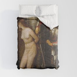 John Everett Millais - The Knight Errant Comforters