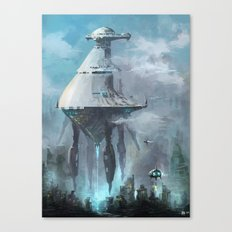 Mother ship extraction Canvas Print