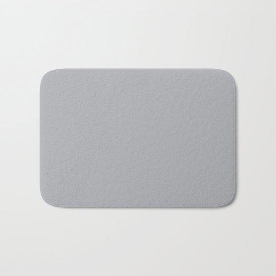 Simply Concrete Gray Bath Mat