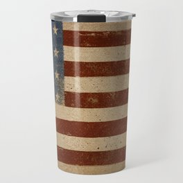 Flag US Flag American America Old Glory USA Travel Mug