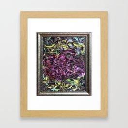 Satisfaction Framed Art Print