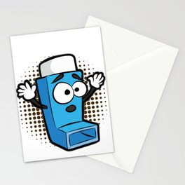 ASTHMA PLAYING LIFE ON HARD MODE Inhaler GIFT Stationery Cards