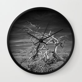 and the dry ceaseless wind Wall Clock