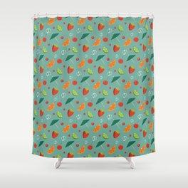 Umbrella Drinks Shower Curtain