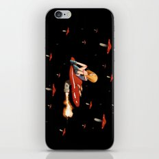 Mushroom Space iPhone & iPod Skin