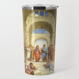"Raffaello Sanzio da Urbino ""The School of Athens"", 1509-1510 Travel Mug"