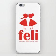 feli iPhone & iPod Skin