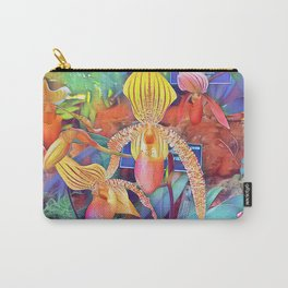 Orchid Botanical Garden Carry-All Pouch