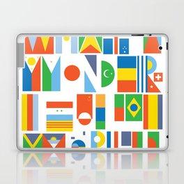 What A Wonderful World II Laptop & iPad Skin