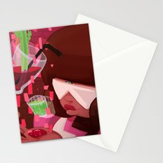 Garnet's shots Stationery Cards