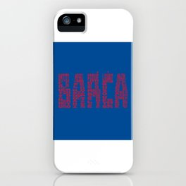 Barcelona 2018 - 2019 iPhone Case