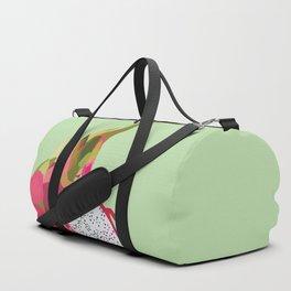 Geo Dragon Fruit Duffle Bag
