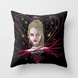 Decap_No.2 Throw Pillow