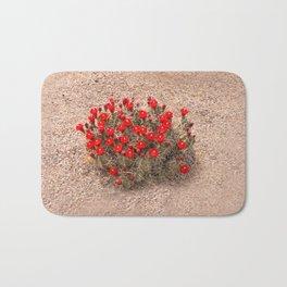 Sandia Cactus Flowers Bath Mat