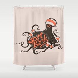 octopus sport bands Shower Curtain