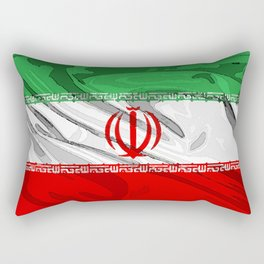 Iran Fancy Flag Rectangular Pillow