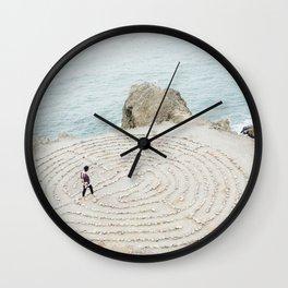 Human Mandala Wall Clock