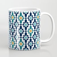 islam Mugs featuring Marrakesh by Patterns and Textures