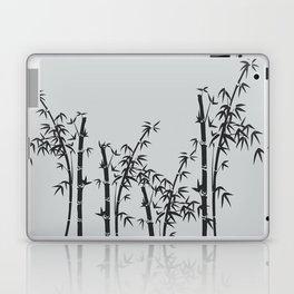 Bamboo black - grey Laptop & iPad Skin