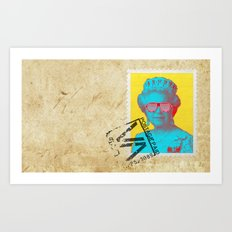 Pop Queen Art Print