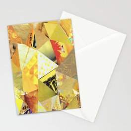 Collage - They Call Me Mellow Yellow Stationery Cards