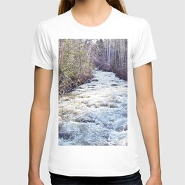White Water in the Forest T-shirt