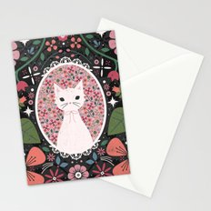 Kitten Cameo  Stationery Cards