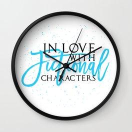Fictional characters Wall Clock