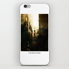 In The Comfort Of Shadows iPhone & iPod Skin