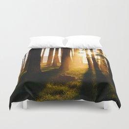 Scenic sunset Duvet Cover