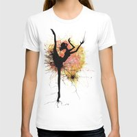 dancer T-shirts featuring dancer by liva cabule