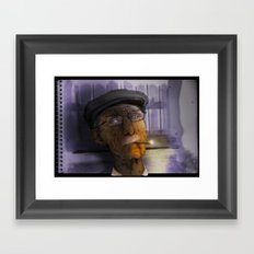 viejo  Framed Art Print