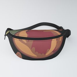 Planetary Peach Fanny Pack