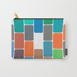 Colored Blocks Carry-All Pouch