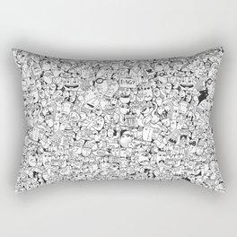 Crowd 1+2 Rectangular Pillow