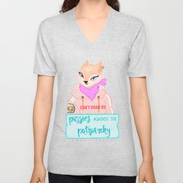 Pussies Against The Patriarchy Unisex V-Neck