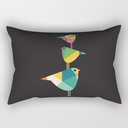 Birds Just Birds Rectangular Pillow