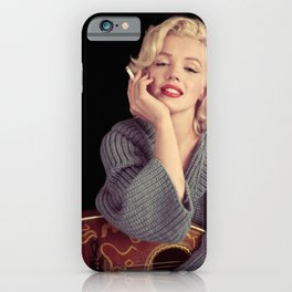 MARYLIN MONROE POSTER iPhone Case