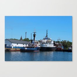 Yank Canuck Canvas Print