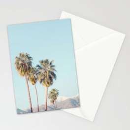 Palm Springs Palm Trees - Minimalist California Travel Photography Stationery Cards
