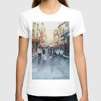 paris T-shirts featuring PARIS by Nicolas Jolly